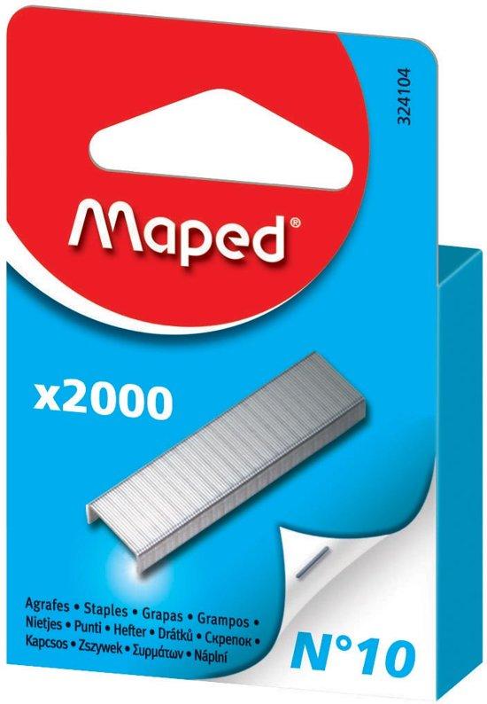 31x Maped nietjes nr 10, doos a 2.000 nieten