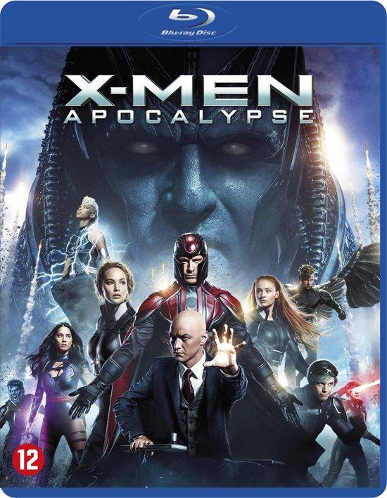 DVD cover van X-MEN: Apocalypse (Blu-ray)