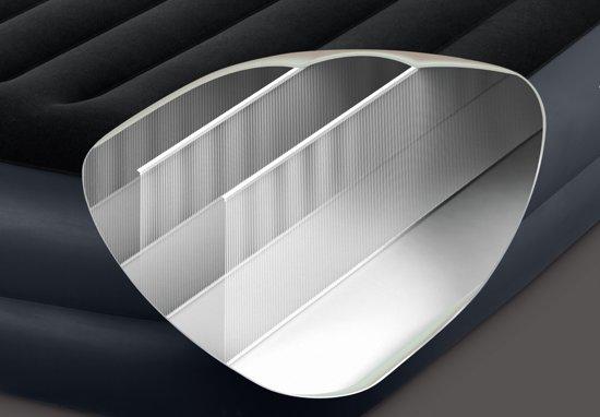 Intex Queen pillow Luchtbed - 2-persoons - 203 x 152 x 42 cm - met ingebouwde pomp