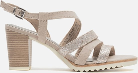 0a563508fb87fe Marco Tozzi Sandalen taupe