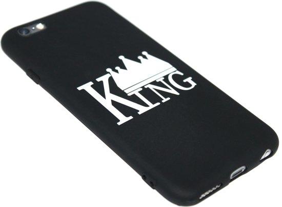 Zwart King hoesje iPhone 6 / 6S