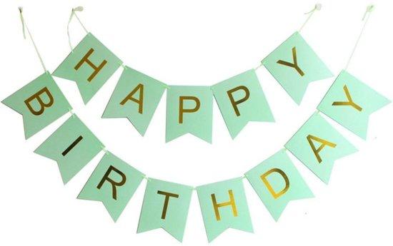Bol Com Happy Birthday Slinger Verjaardag Groen Ranido Speelgoed