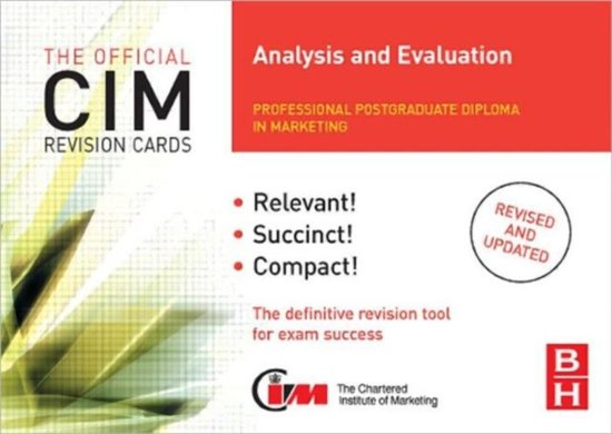 CIM Revision Cards Analysis and Evaluation