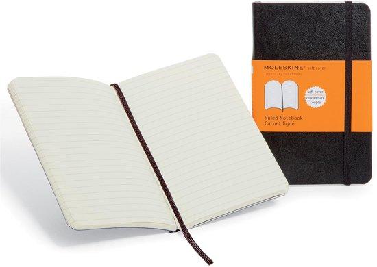 Moleskine Classic Notebook - Large - Ruled - Soft - Black