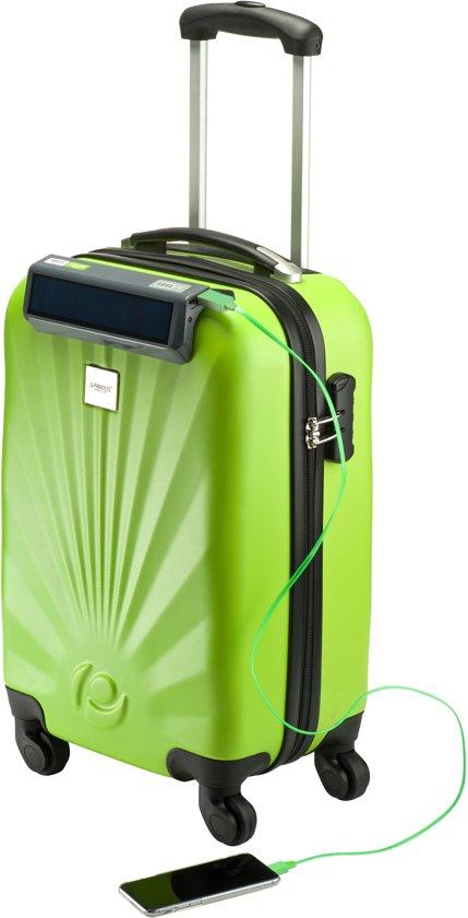 Princess Traveller Solar Power POD Handbagagekoffer - 55 cm - Groen