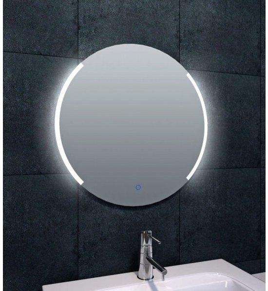 bol.com | Round spiegel met dimbare LED verlichting 60 cm