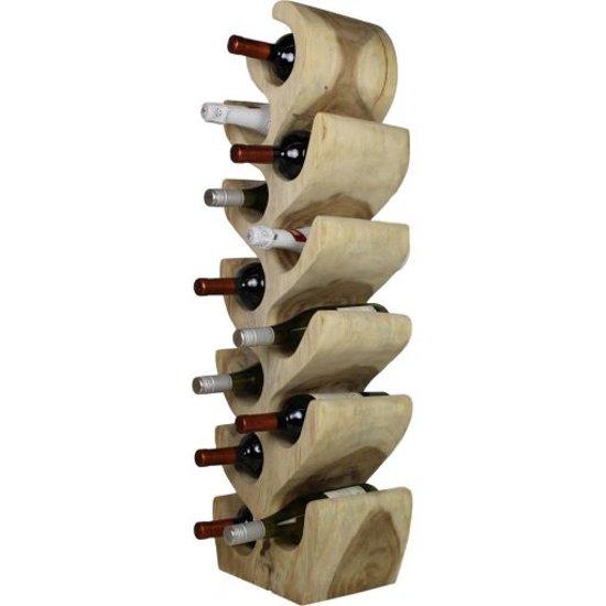 Houten Wijnrek Wit.Wijnrekken Globos Giftfinder