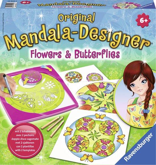 Ravensburger Mandala Designer® Flowers & Butterflies 2 in 1