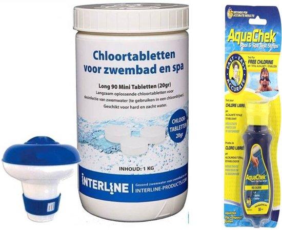 Zwembad starterspakket/chloortabletten pakket