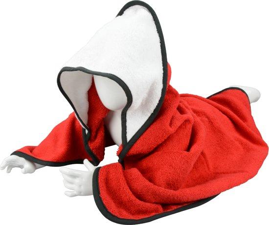 ARTG Babiezz® Babycape 100% Katoen Rood/Wit/Zwart