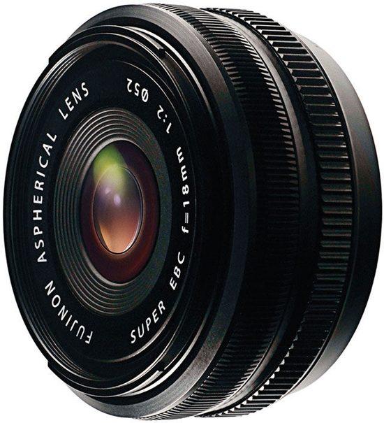 Fujifilm Fujinon XF 18mm f/2 R