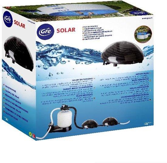 Gre Zwembad Solar zwembadverwarming max. 10 m³ - zwembadverwarming - zwembad - verwarming