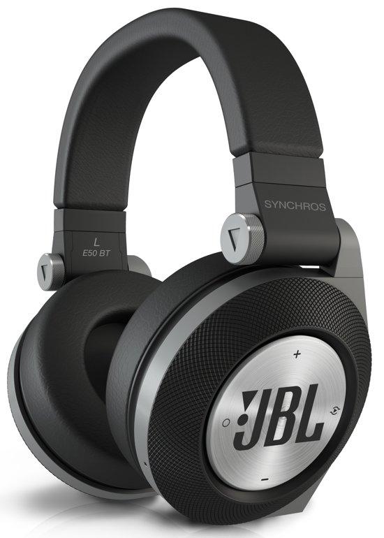 JBL Synchros E50BT - Draadloze koptelefoon - Zwart