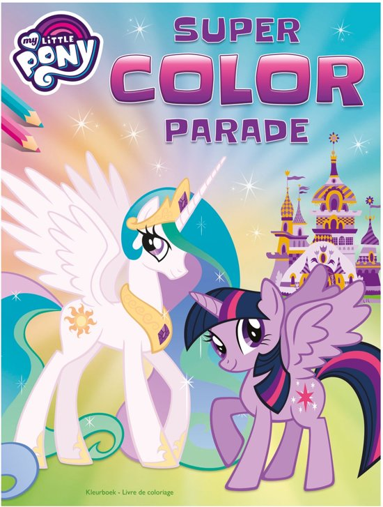 My Little Pony super color parade