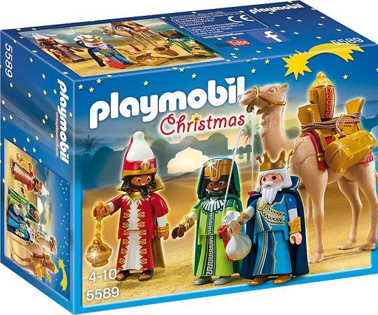 Playmobil de 3 koningen met cadeaus bij de geboorte  - 5589