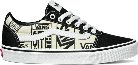 Logo Black Sneakers Ward mix Vans White off Maat Dames 37 Y1ZHax