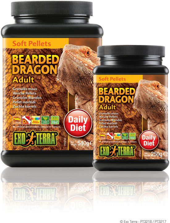Bearded Dragon Food 250 gram