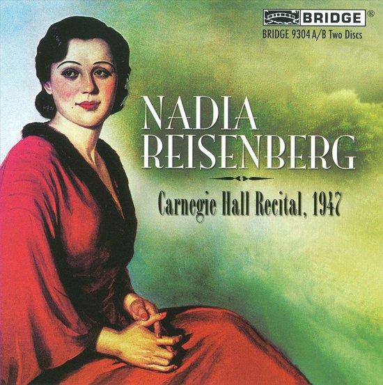 Reisenberg At Carnegie  Hall