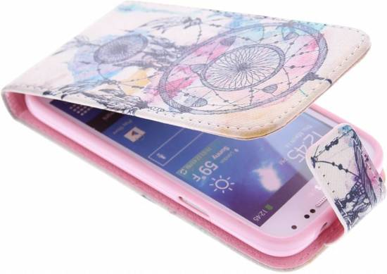 Hibou Boîtier Flip Tpu Design Pour Le Mini-samsung Galaxy S wBRHWfn