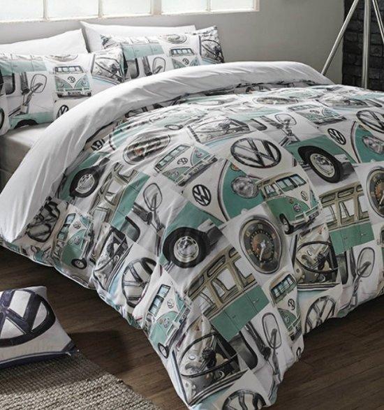 Bol Com 1 Persoons Dekbedovertrek Vw Volkswagen Camper