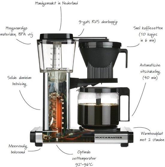Technivorm Filterkoffiemachine KBG741 - Copper - Moccamaster