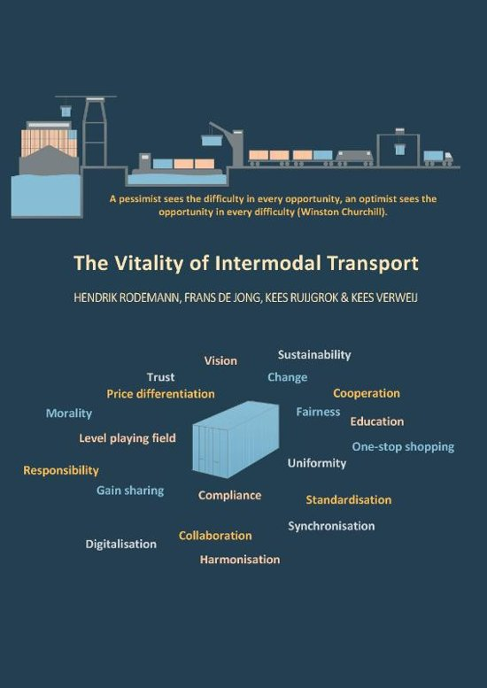 Boek cover The Vitality of Intermodal Transport van Hendrik Rodemann (Paperback)