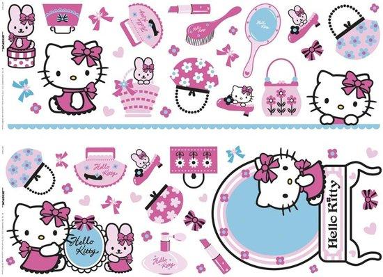 Muurstickers Kinderkamer K3.Bol Com Hello Kitty Muurstickers Roze Blauw Max 23 8x22 3 Cm