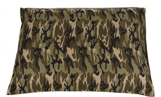 Bol dogbed hondenkussen bench camouflage groen