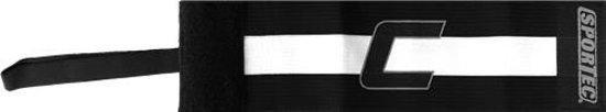 Sportec Aanvoerdersband Velcro C Zwart