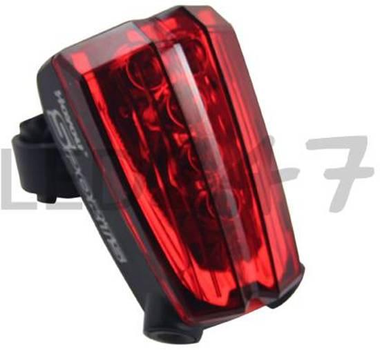 MTB LED Fietslamp Achterlicht met Grond Laser