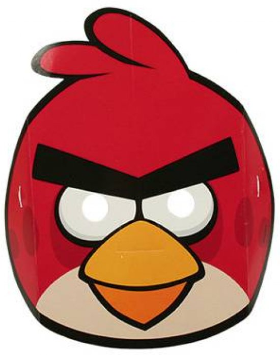Angry Birds Maskers 6 stuks