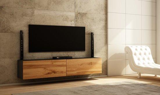 Eiken Kast Tv.Bol Com Az Home Tv Meubel Tv Kast Young Xl 200 Cm