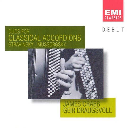 DEBUT  Duos for Classical Accordions  / Crabb, Draugsvoll