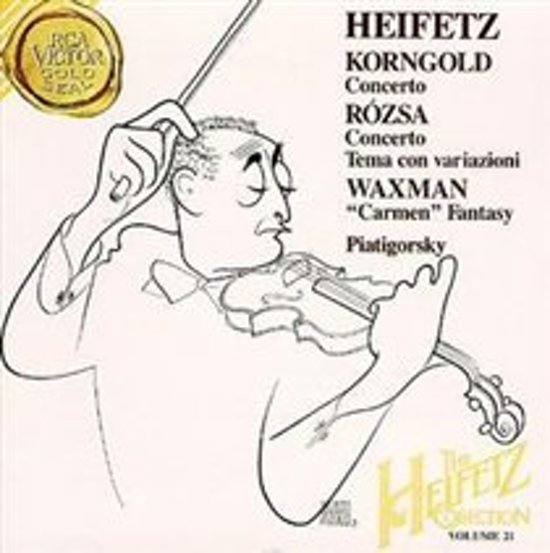The Heifetz Collection Vol 21 - Korngold, Rozsa, Waxman