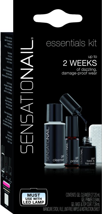 SensatioNail Essential Kit - Gel nagellak