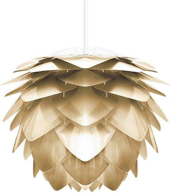 Alle nye bol.com | VITA Silvia Hanglamp - Brushed Brass - incl. Wit Koord VM-82