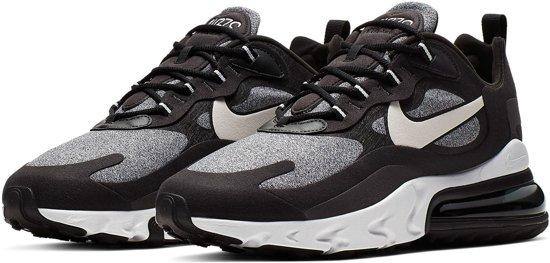 Nike Air Max 270 React Sneakers Maat 44 Mannen zwartgrijs