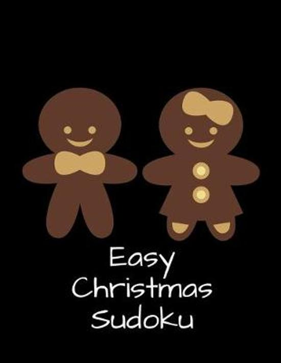 Easy Christmas Sudoku: 100 Easy Puzzles In Large Print Holiday Themed