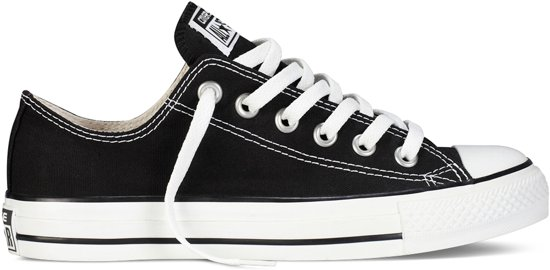 Converse All Star Sneakers Laag - Black/White