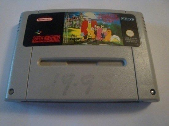Pugsley's Scavenger Hunt - Super Nintendo [SNES] Game [PAL]
