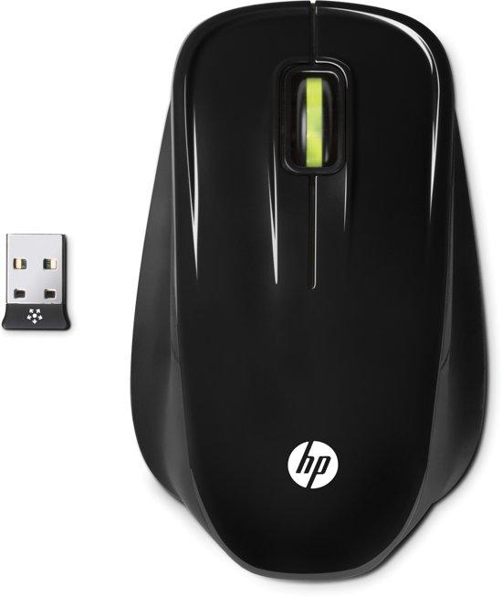 HP XA964AA RF Draadloos Optisch 1750DPI Zwart muis