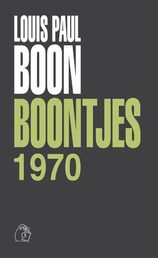 Boek cover Boontjes 1970 van Louis Paul Boon (Hardcover)