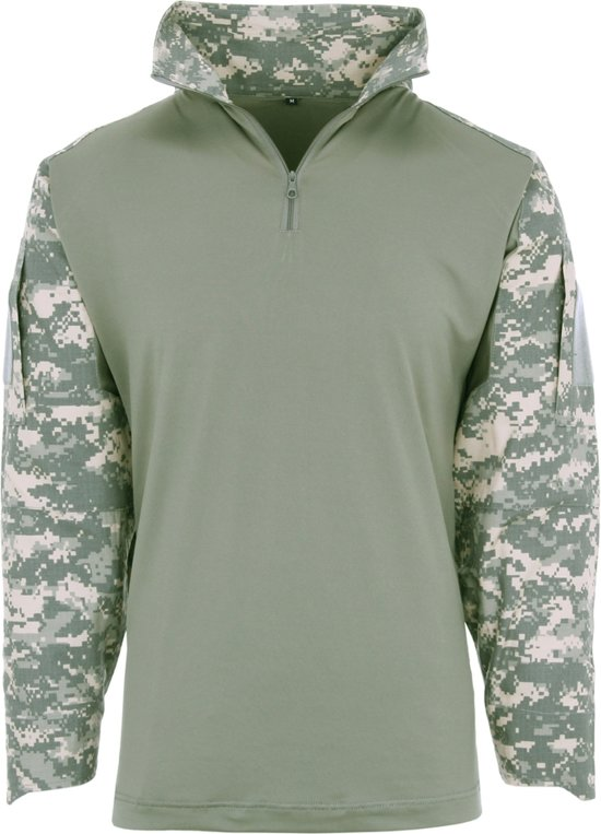 Ubac Tactical Shirt Camo Acu 101inc Digital qZ4Fp