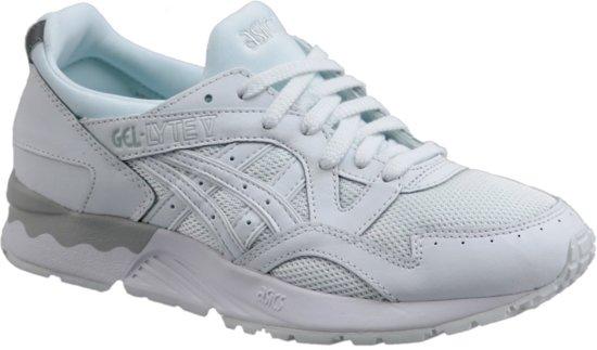 La Taille De Gel Chaussures De Sport Asics Lyte V Hommes Blancs 46,5