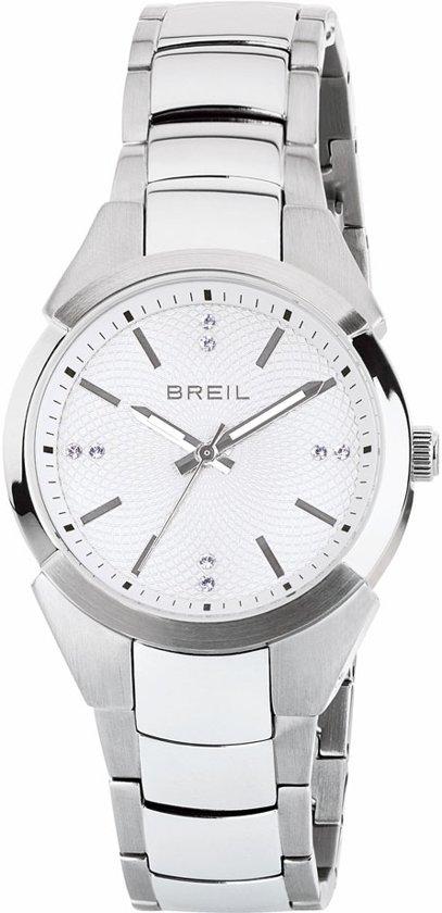 Breil TW1476 horloge dames - zilver - edelstaal