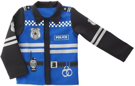 Politiejas met Lange Mouw - Imaginarium - Verkleedkleding Politie - 3-6 Jaar