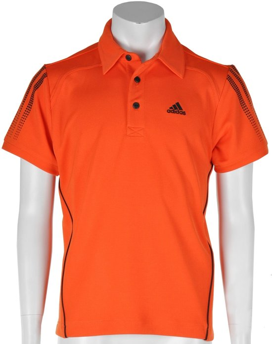 adidas Boy's Response Traditional Polo - Sportpolo - Kinderen - Maat 176 - Oranje