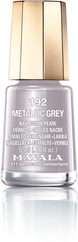 Mavala - 192 Metallic Grey - Nagellak