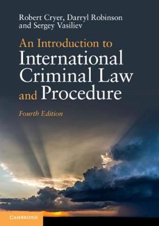 94629ed59009 bol.com   An Introduction to International Criminal Law and ...