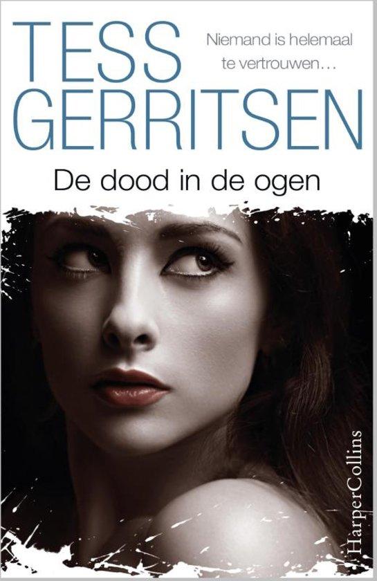 Boek cover De dood in de ogen van Tess Gerritsen (Onbekend)